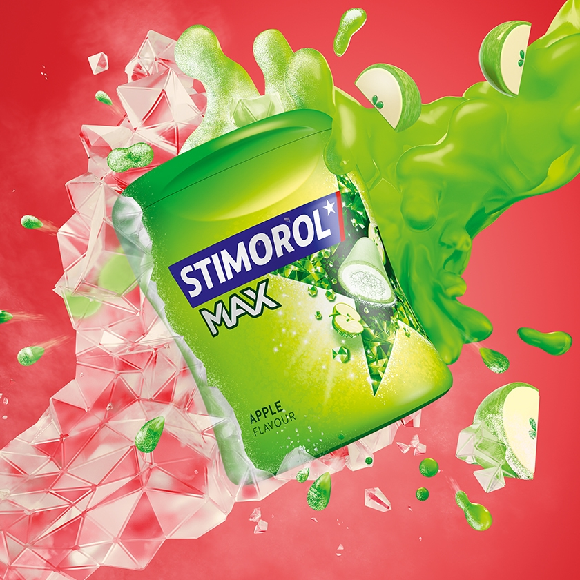 Stimorol Max Apple
